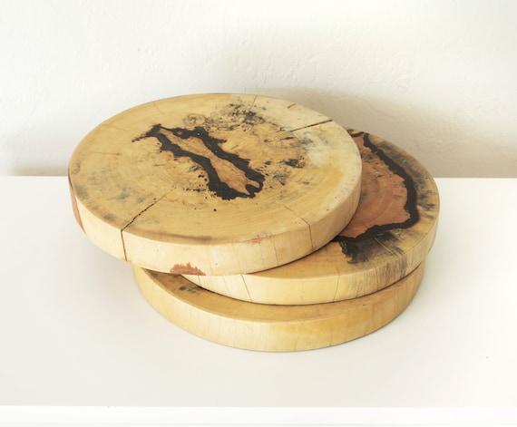 "Magnolia Tree Slab 11"" Wall Art Food Tray Food Dish Coastal Decor by SEASTYLE"
