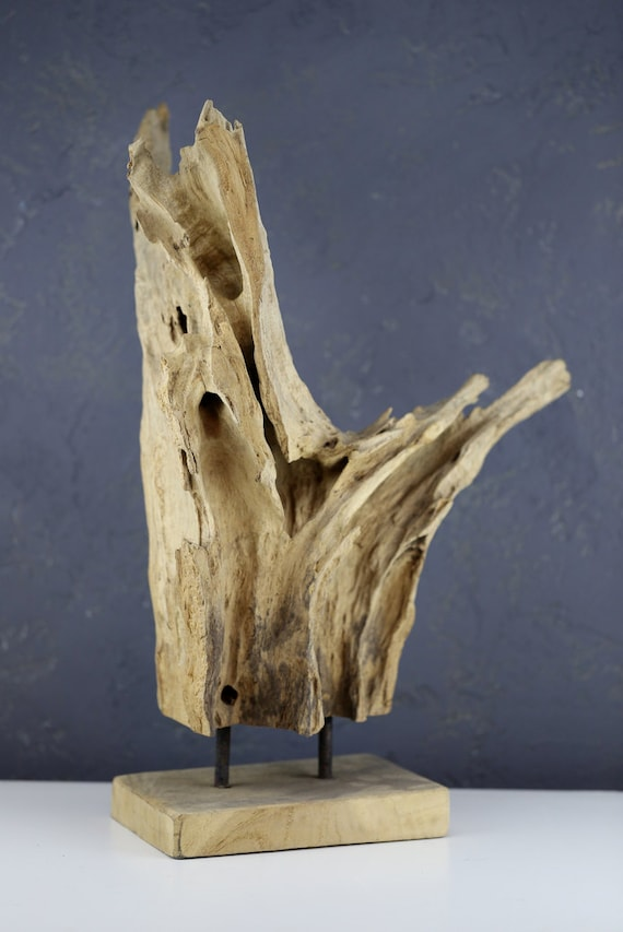 Beach Décor Drift Wood Piece on a stand #6 by SEASTYLE