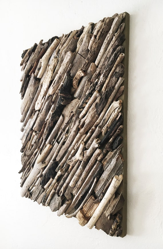 "Driftwood Wall Art 18x24"" Beach Décor by SEASTYLE"