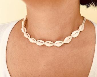 Nautical Seashell Eco Boho Necklace by SeaStyle