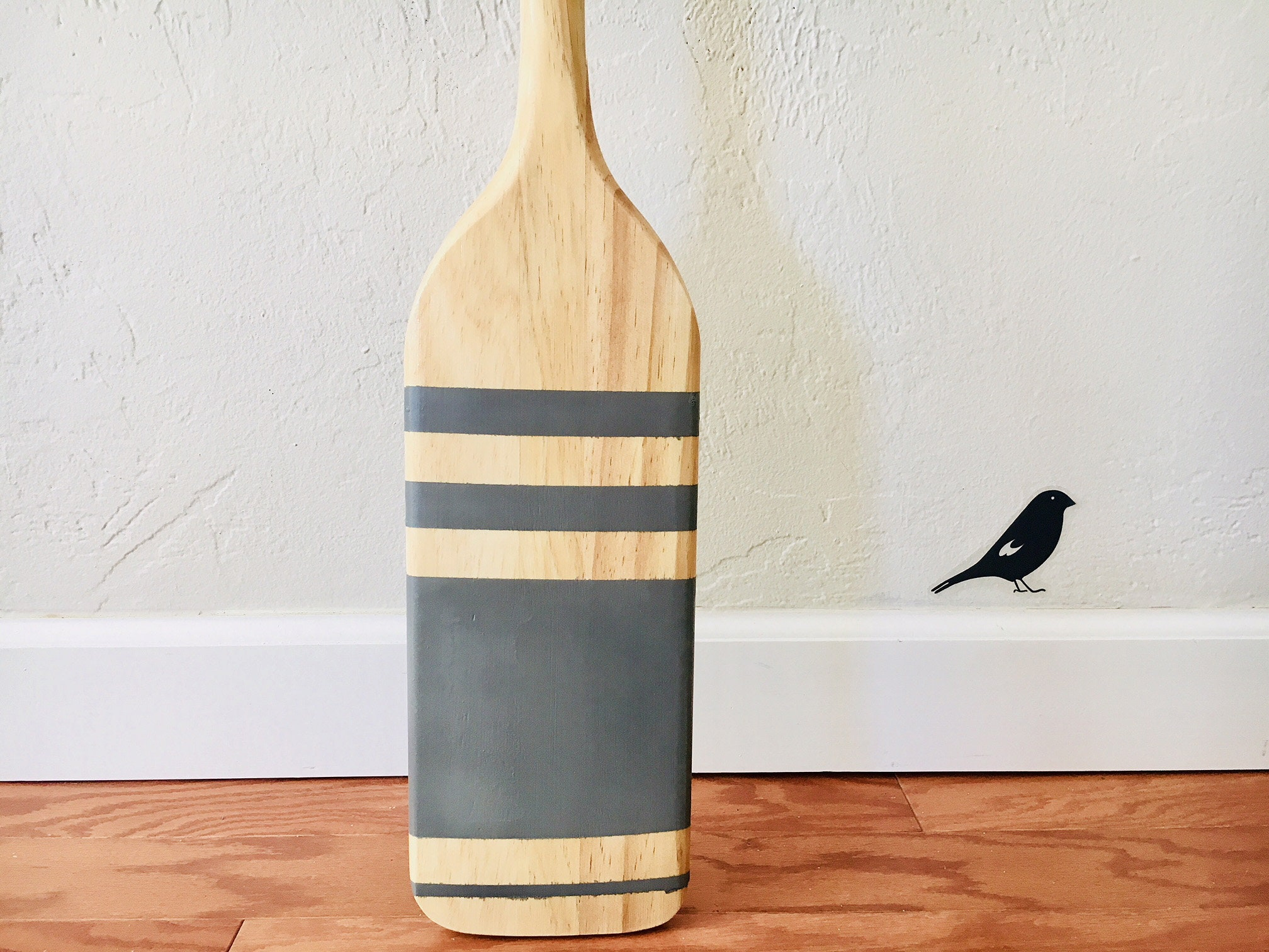 Gray Paddle Wood Nautical Beach Decor By Seastyle