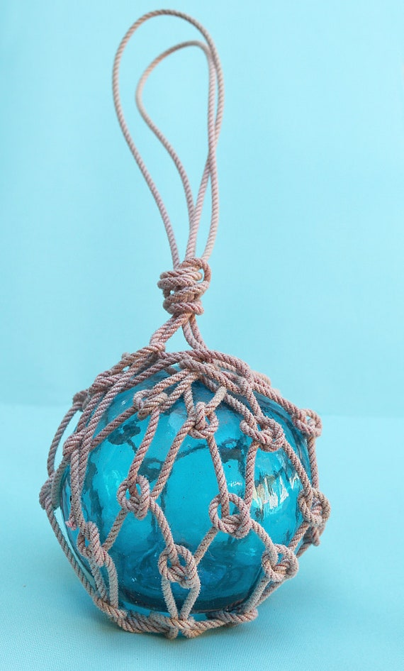 Blue Fishing Float Beach Decor by SEASTYLE