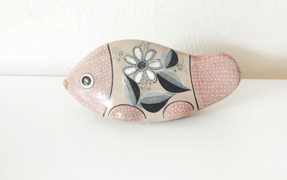 Ceramic Fish Handmade Vintage Beach Decor by SEASTYLE