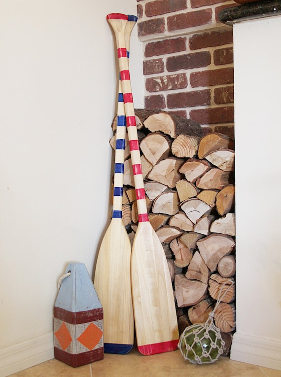 Beach Decor Paddle Wood Nautical by SEASTYLE