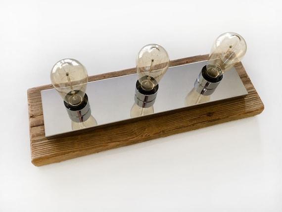 Nautical Light Lamp 3 Edison bulbs included Vintage Edison Style Industrial Retro Rustic Beach Decor, by SEASTYLE