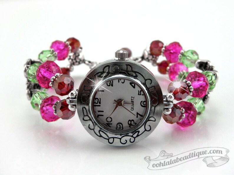 54dcdf4da7a521 Geboortesteen armband horloge geboortesteen sieraden