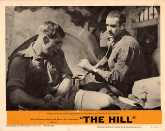 The Hill.196511x14 USLobby Cards #4,#5,7,8 Movie Posters.Sean Connery,Harry Andrews,Ian Bannen,Alfred Lynch,Ossie Davis,Sir Michael Redgrave