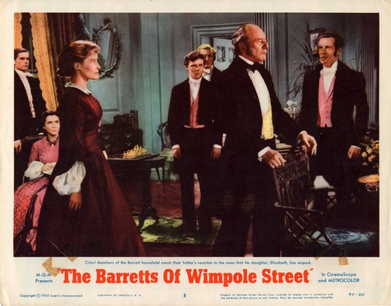 The Barretts of Wimpole street Norma Shearer poster #2