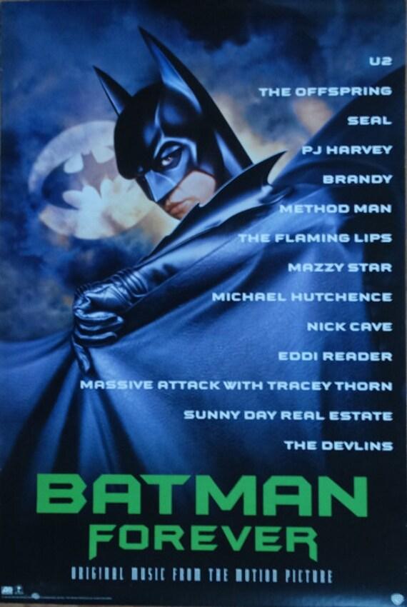 Batman Forever 1995 Original Us 20x30 Record Etsy