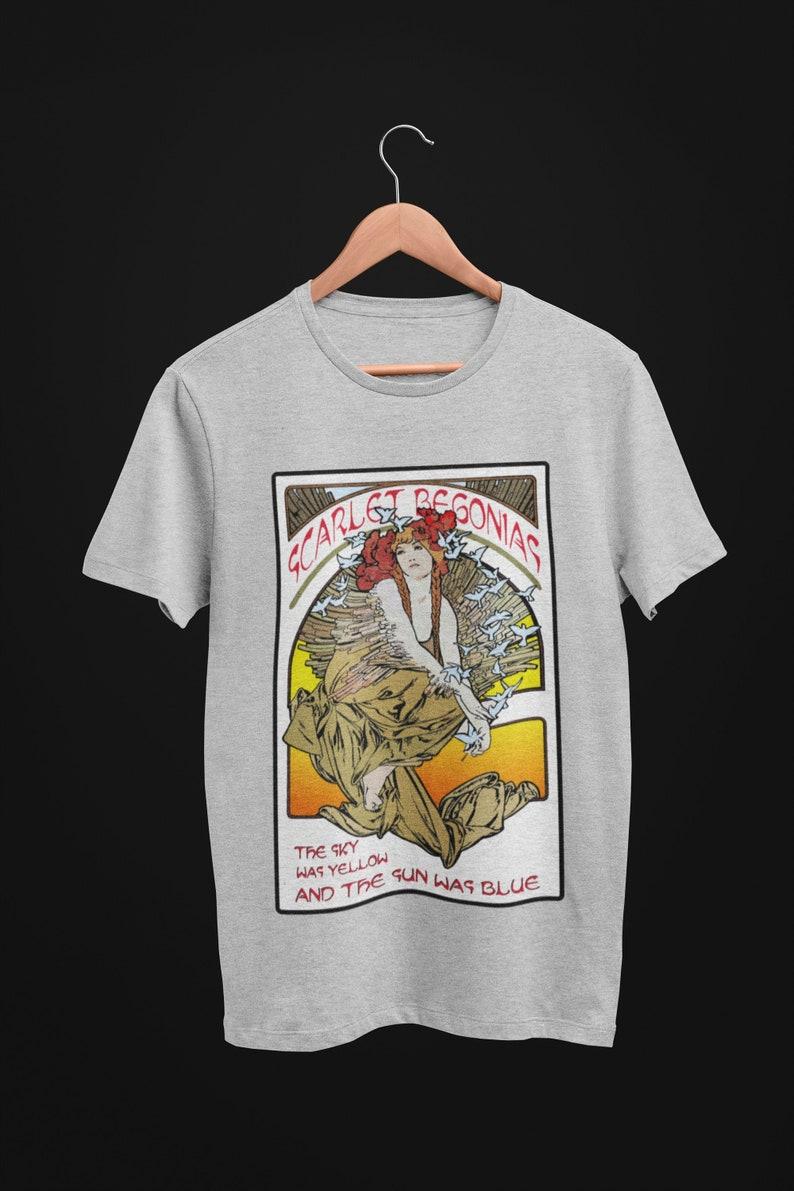 Scarlet Begonias Mens T shirt  Shakedown Street lot Shirt  image 0