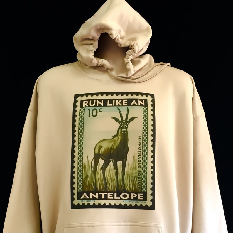 Run like an Antelope  Mongo Arts Pullover Phish inspired image 0