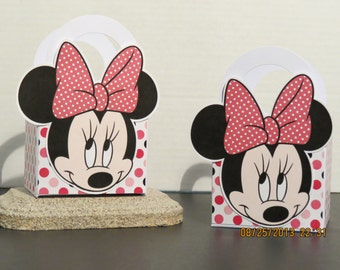 Minnie Mouse Favor/Gift Bags (Set of 12)