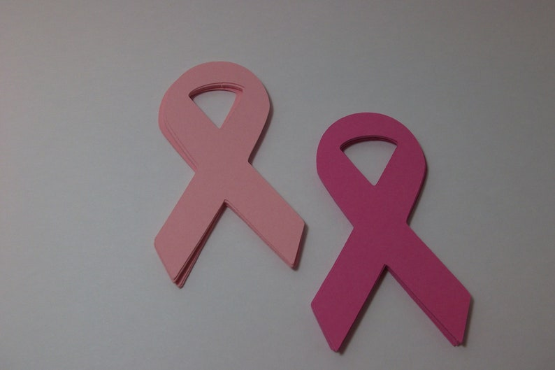 Cancer Awareness Ribbon Die Cuts