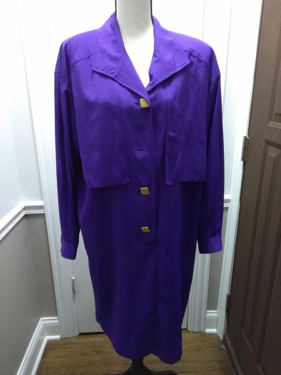 """Purple Fabulous """"Dynasty"""" Dress"""