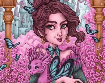Mariposa Fine Art Print