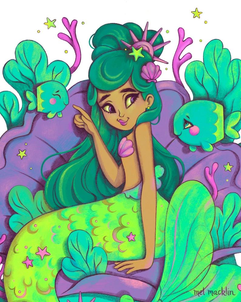 Undine Meerjungfrau