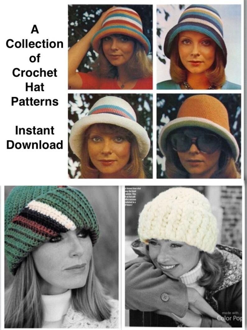 ba693559853 Classic Crochet Cuff And Brim Hats Quick Easy Winter