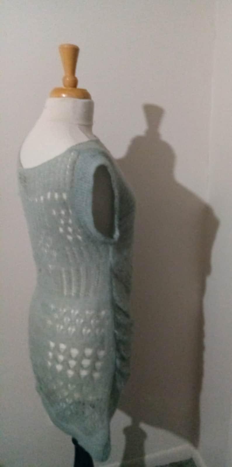 Distressed Knit Tunic