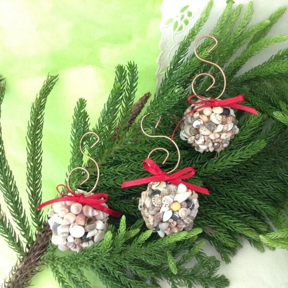 Island Christmas Theme.Hawaiian Christmas Ornaments Seashell Balls Beach Christmas Ornaments Shell Decor Seashell Ornament Island Theme Decor Coastal