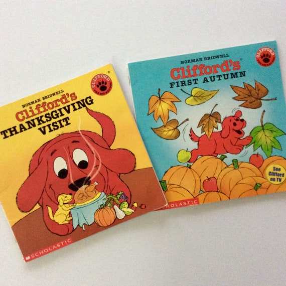 Clifford Books Norman Bridwell The Big Red Dog Etsy