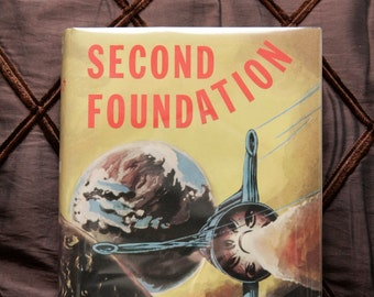 """Sci Fi Geek Gift: """"Second Foundation"""" 