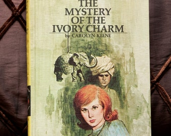 """Nancy Drew Vintage 1978 *BRAND NEW / UNREAD* Book: """"The Mystery of the Ivory Charm' #13 