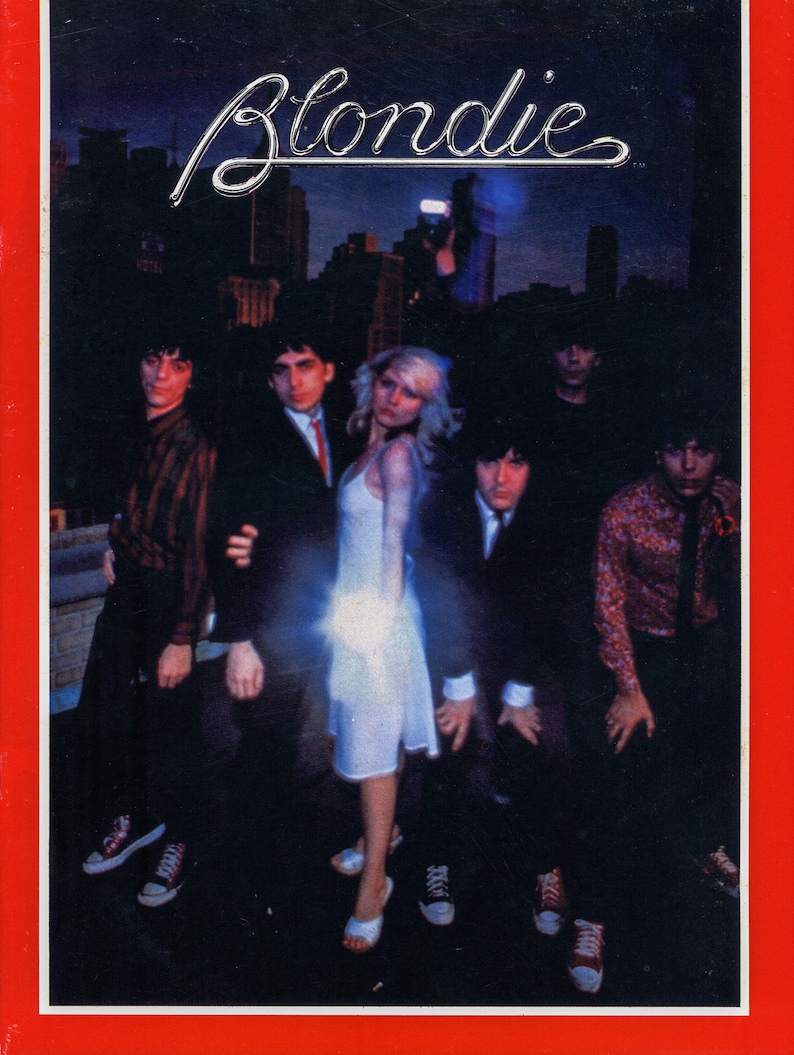 Blondie fan mag/program 1979 20 glossy pages Loads of image 0