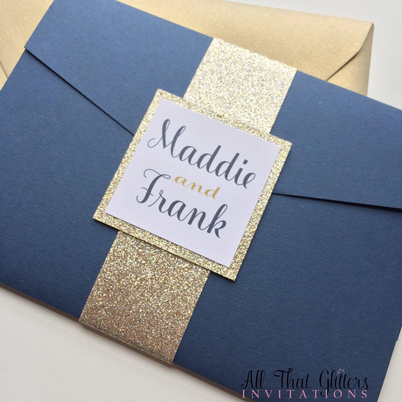 Beautiful Champagne Wedding Invitation Kits Pattern Invitations