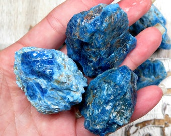 Apatite Raw Stones -  Rough Apatite Stones - Healing Crystals and Stones - Rough Raw Stones - Reiki Crystals and Stones - Natural Apatite