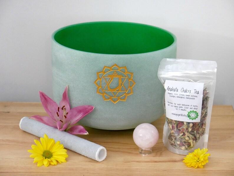 Anahata Crystal Singing Bowl  Healing Bowls image 0