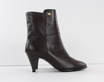 Bottines & low boots à talons GUYA cuir gris 37,5