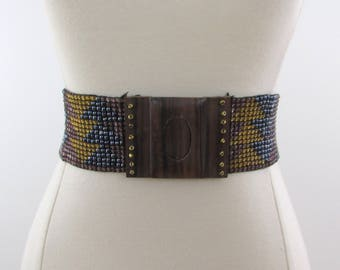 New Floral Multicolor Sequined Beaded Embroidery Waist Hip Belts 2 Handmade Sash