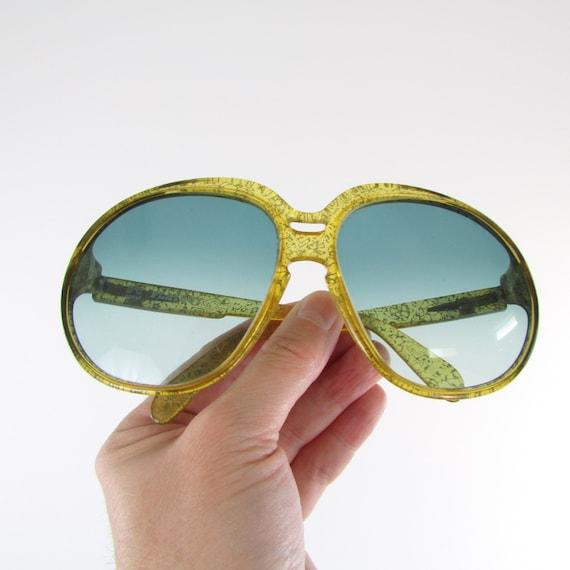 Vintage Oversized Sunglasses 1970s Playboy Optyl S