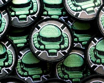 MSTrooper - cosplay patch inspired by zaku zeon gundam anime