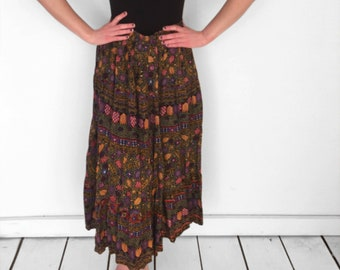 Geometric KLIMT Skirt 90s First Option One Size Abstract Celestial
