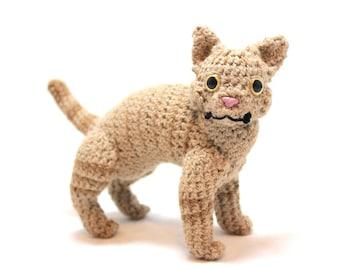 Buff Tabby Cat Doll