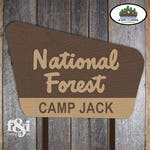 Camping Party Signs | Camp Party Sign | Camping Birthday Decorations | Camping Party Decorations | National Forest Sign Poster | Printable