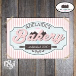 Baking Party Sign | Bakery Party Sign | Bake Shop Sign | Baking Party Backdrop | Bakery Backdrop Sign | Bakery Birthday Party | Printable