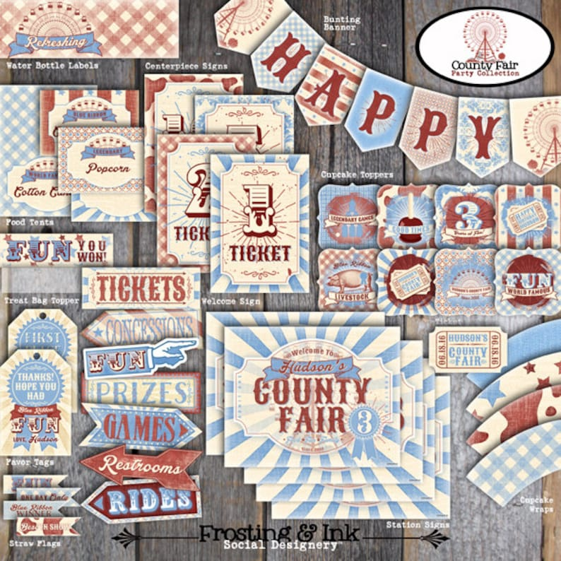 County Fair Party Country Fair Party County Fair Party Etsy