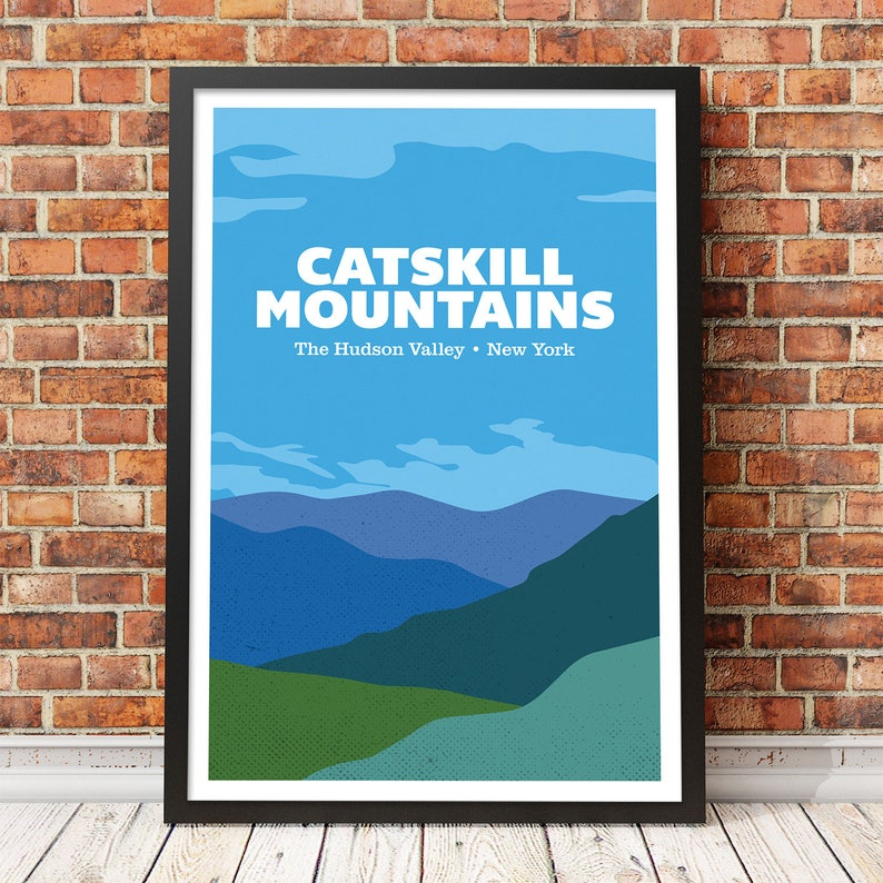 Catskill Mountain House vintage print poster repro 16x20