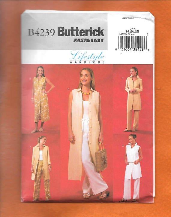 Butterick 4239 Misses schnell & einfach Muster zu nähen eine   Etsy