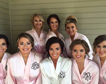 BRIDESMAID ROBES- SALE-Monogrammed Robes for Bridesmaids Gifts 7f61b4241