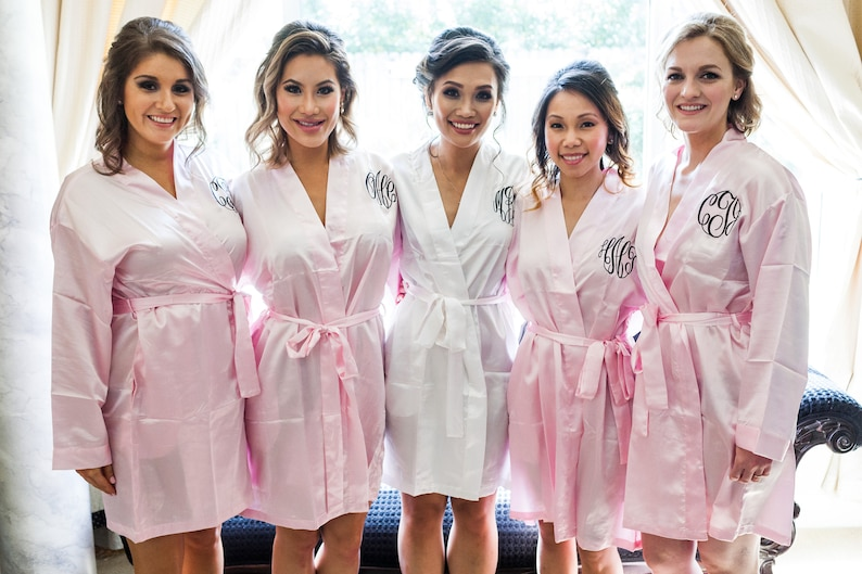 9183f9e701 BRIDESMAIDS ROBES-SALE-Bridesmaids Monogram Robes Bride