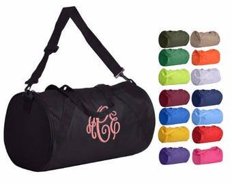Monogrammed Duffle Bag, Monogram Gym Bag, Monogram Dance Bag, Monogrammed Cheer Bag, Monogram Sports Duffle, Duffle Bags