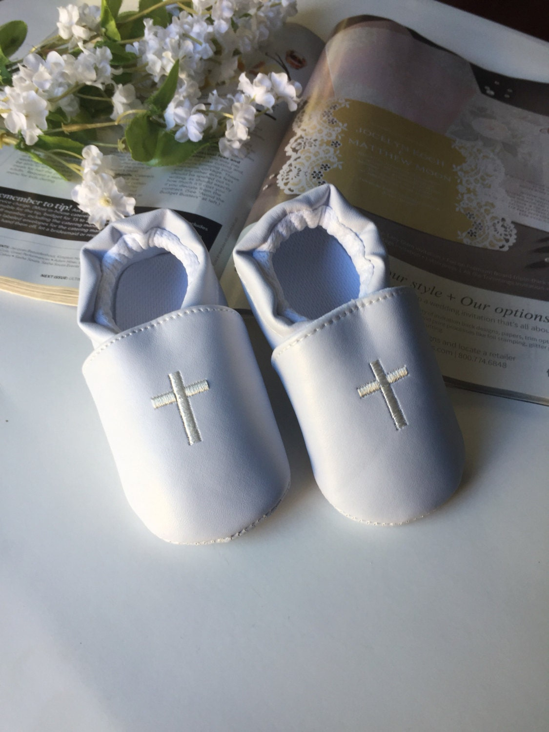 Baptism Shoes Baby Boy Baptism Shoes White Shoes