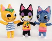 Animal Crossing Cat - Crochet Pattern