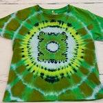 4T Toddler Green Lantern Tie Dye Tee Shirt
