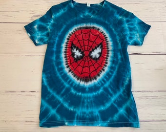 fdb8ae1e Kid's Youth XL Extra Large Spiderman Tie Dye Tee
