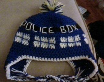 Crochet Tardis Hat