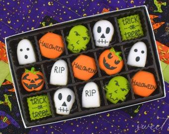 Mini Halloween Sugar Cookies Gift Box